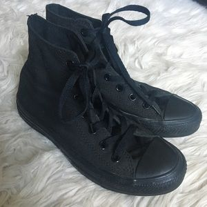 Black Hi-Top Converse Sneaker